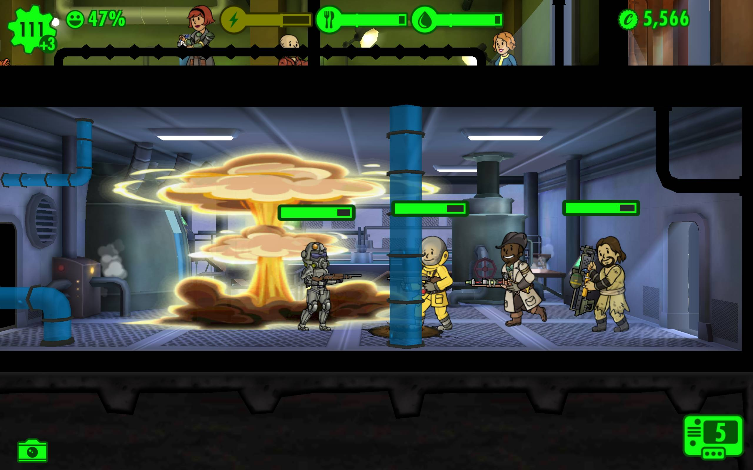 Harkness fallout shelter android