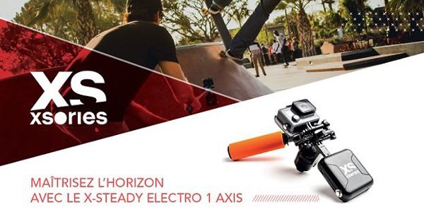 Filmer comme un pro avec le X-Steady Electro 1 Axis !