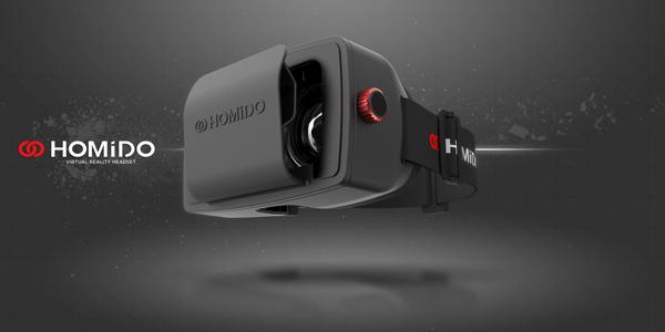 TEST – Casque de réalité virtuelle – Homido V.R