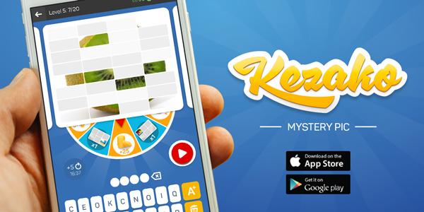 Scimob vient de lancer son nouveau jeu Kezako Image Mystère !