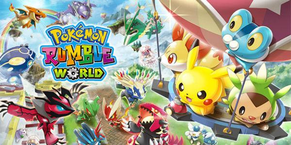 Pokémon Rumble World bientôt disponible en version complète !