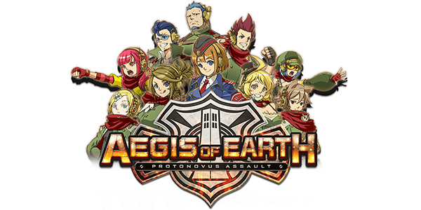 Aegis of Earth : Protonovus Assault est disponible en Europe !