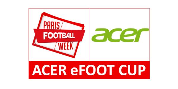 Acer lance l'Acer eFoot Cup !