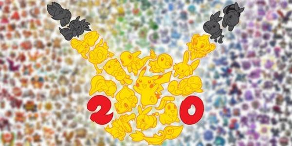 Les 20 ans de Pokémon continue avec l'entrée de Pokémon dans le Livre des records !