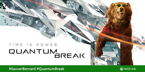 Quantum Break : Il faut #Sauverbernard le 05/04 sur Xbox !
