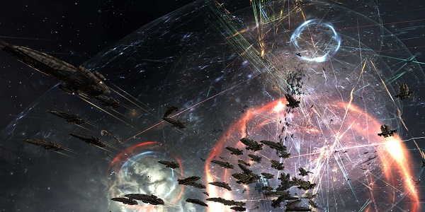 Une guerre sans précédent fait rage sur EVE Online !