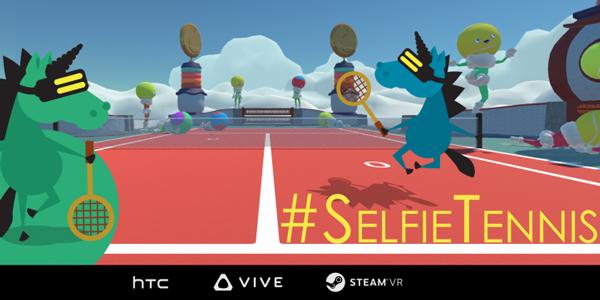 #SelfieTennis : Me, Myself & Vive !