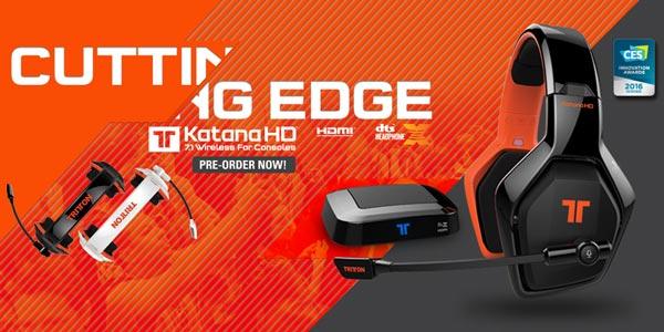 Tritton Katana HD : Les précommandes sont ouvertes !