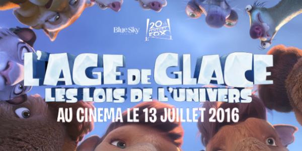 Nouvelle bande-annonce pour L'âge de glace – Les Lois de l'Univers !