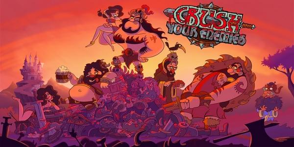 Crush Your Enemies arrive le 9 juin !