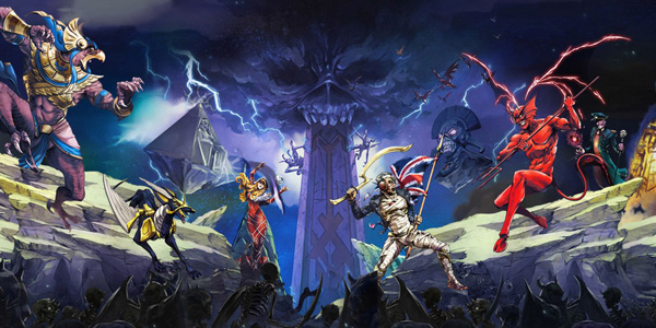 Iron Maiden : Legacy of the Beast est disponible !