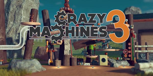 Crazy Machines 3 est disponible !