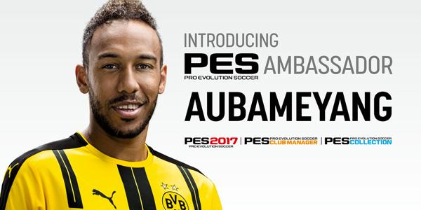 Aubameyang nommé ambassadeur officiel de la PES League 2017 !