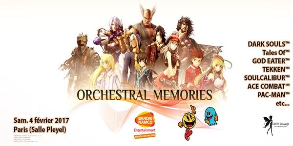 Orchestral Memories – Rendez-vous le 4 février à la Salle Pléyel !