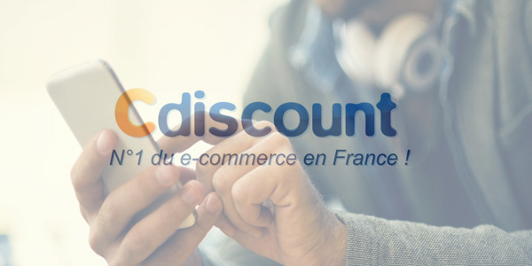 Cdiscount lance son offre mobile !