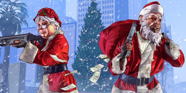 GTA Online – La Surprise Festive 2016 est arrivée !
