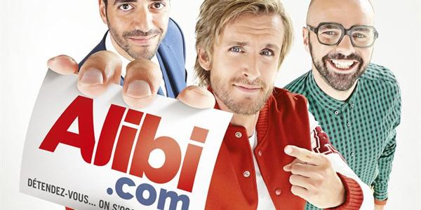 Alibi.com – L'affiche officielle du film se dévoile pour Noël !