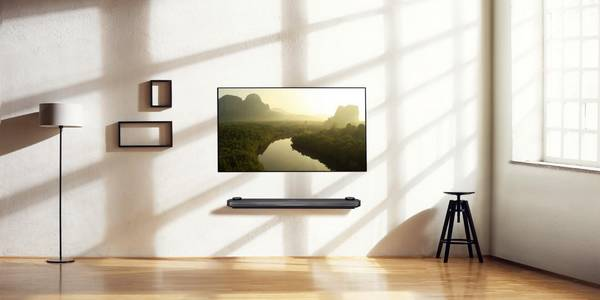 TV OLED W LG Signature