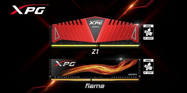 AMD certifie que les offres DDR4, de la gamme XPG Adata, sont compatibles AM4/Ryzen !