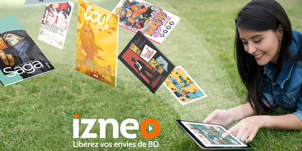 Le webtoon débarque sur Izneo !