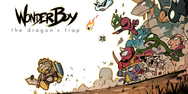 Wonder Boy The Dragon's Trap - Wonder Boy: The Dragon's Trap Wonder Boy : The Dragon's Trap