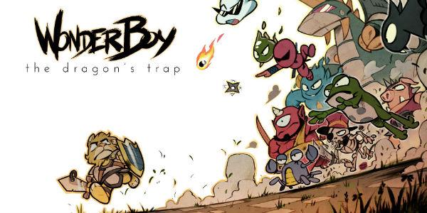 Wonder Boy The Dragon's Trap - Wonder Boy: The Dragon's Trap Wonder Boy : The Dragon's Trap