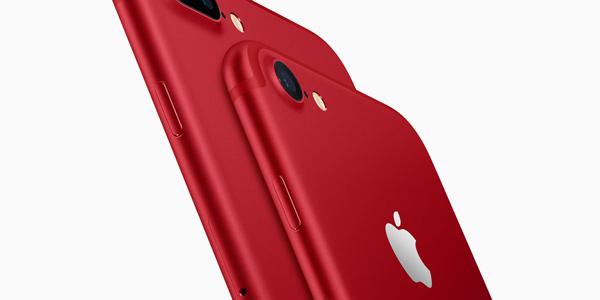 Apple lance un iPhone 7 RED et un nouvel iPad !