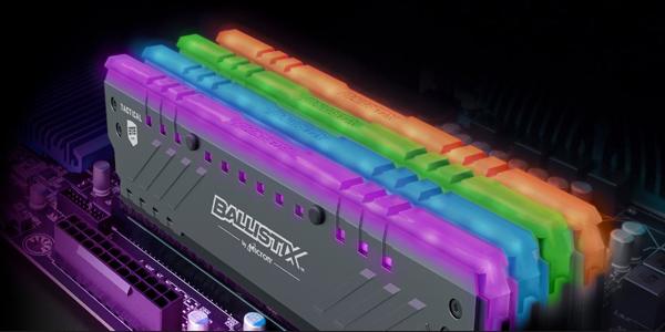 Ballistix Tactical Tracer DDR4 RGB