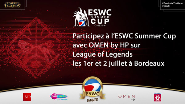 ESWC Summer Cup avec OMEN by HP