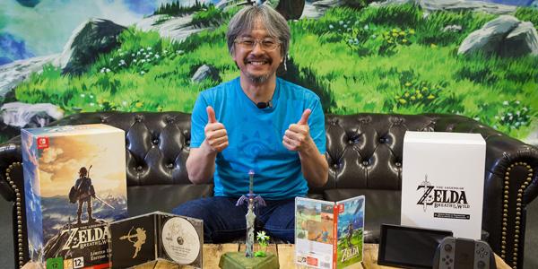 Eiji Aonuma sera à Japan Expo pour une Master Class autour de Zelda: Breath of the Wild !