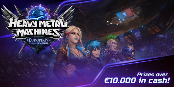 Heavy Metal Machines European Championship
