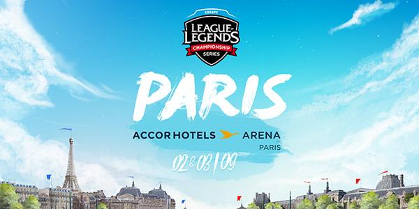 Les finales européennes des LCS se dérouleront à l' AccorHotels Arena !