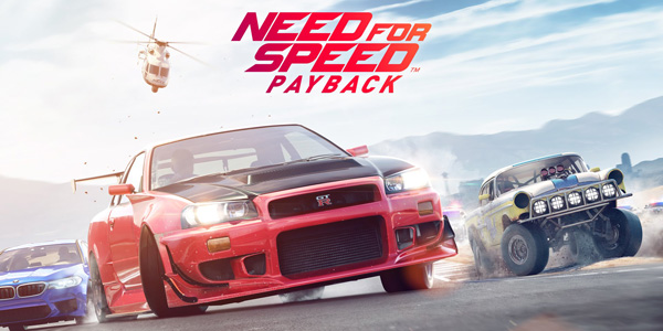 EA annonce que Need for Speed Payback sortira le 10 novembre !