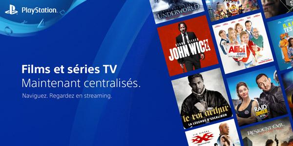PlayStation présente sa nouvelle expérience TV & Vidéo sur PS4 !