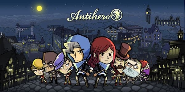 Antihero – Le jeu de plateau numérique débarque sur PC et Mac !