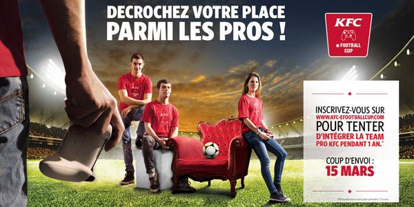 KFC E-football Team