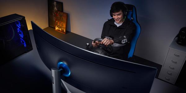 samsung red finit l exp rience de jeu avec un cran 32 9 de 49 pouces actualites hightech. Black Bedroom Furniture Sets. Home Design Ideas