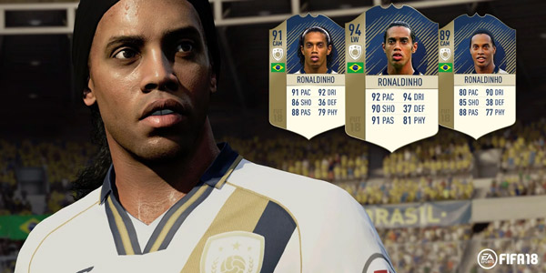 FIFA 18 Ronaldinho Legende Icons FUT 18 FIFA Ultimate Team