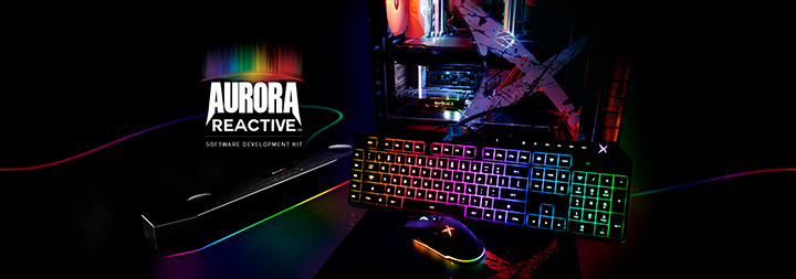 Creative lance le Aurora Reactive SDK  !