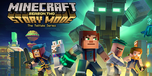 Minecraft Story Mode saison 2 est disponible en magasin !