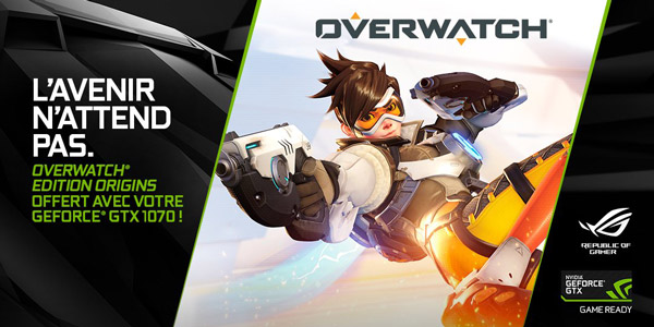 Overwatch Edition Origins NVIDIA Offre