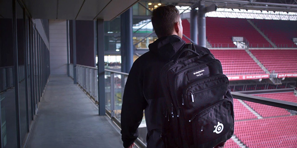 Sniper Backpack Sniper Gaming de Targus x SteelSeries