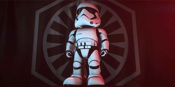 Ubtech présente le nouveau robot Star Wars Stormtrooper !
