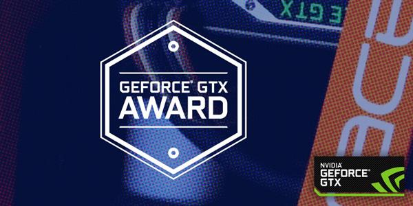 GeForce GTX Award