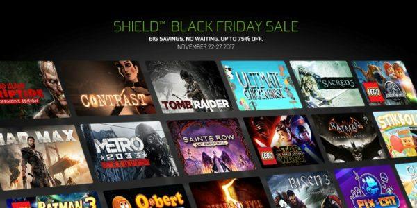 NVIDIA Black Friday : jusqu'à 75% de réduction sur les jeux SHIELD !