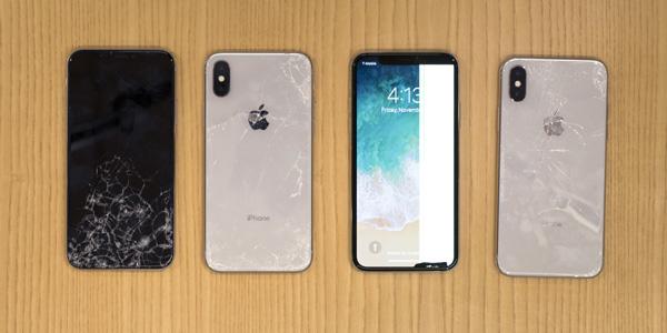 iPhone X se brise face aux tests de fragilité de SquareTrade !