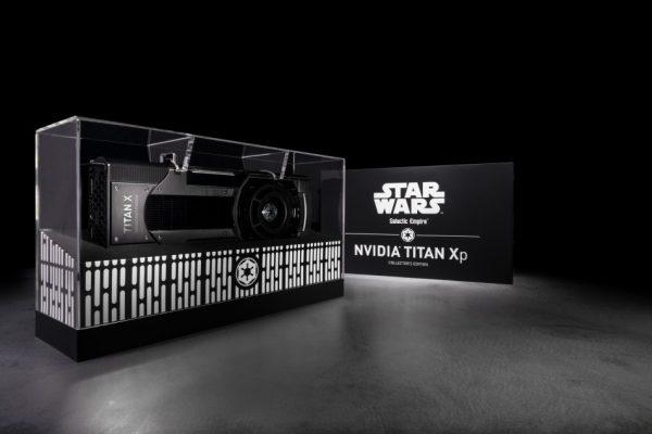 NVIDIA présente des éditions limitées Star Wars de la TITAN Xp !