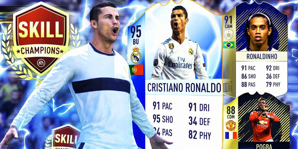 FIFA 18 Ronaldo TOTGS FUT Champions AxoSkill