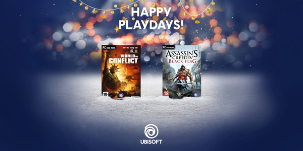 Happy PlayDays Ubisoft