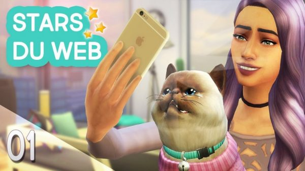 Let's Play : Sims 4 « Stars du web » – Episode 1